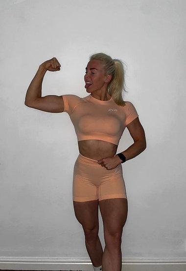 ATMO Peach 2 Piece Gym Set