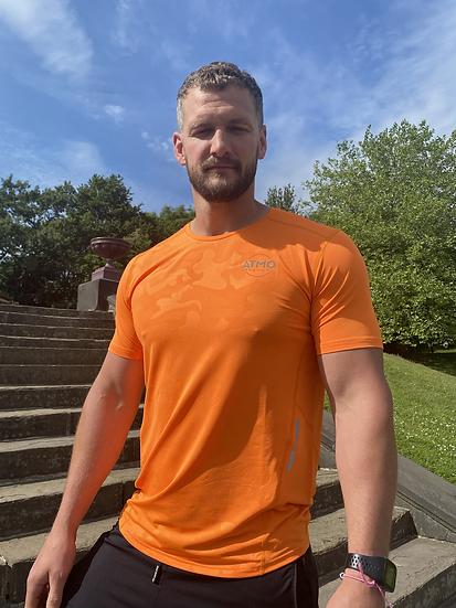ATMO Fusion Tiger Orange T-Shirt