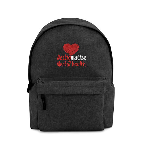 Destig Mental Health Backpack