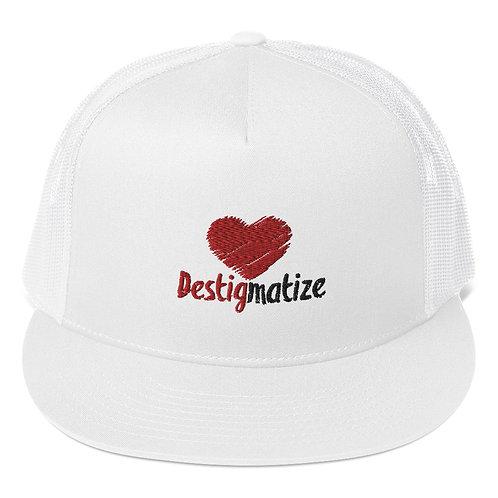 Destigmatize Mesh Snapback