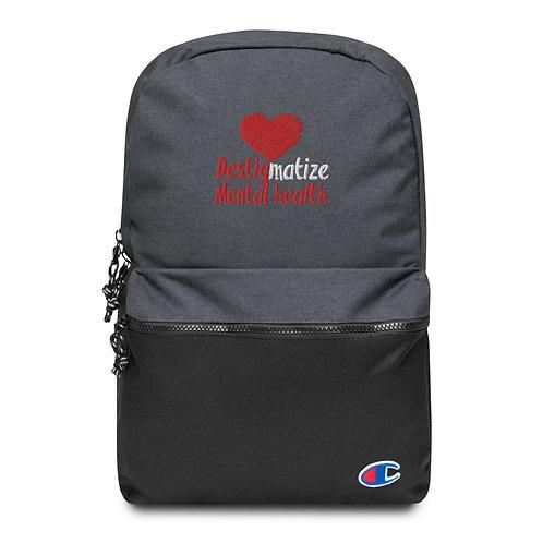 Destig Mental Health Champion Backpack
