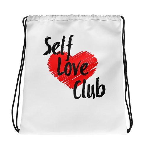 Self Love Club Drawstring bag