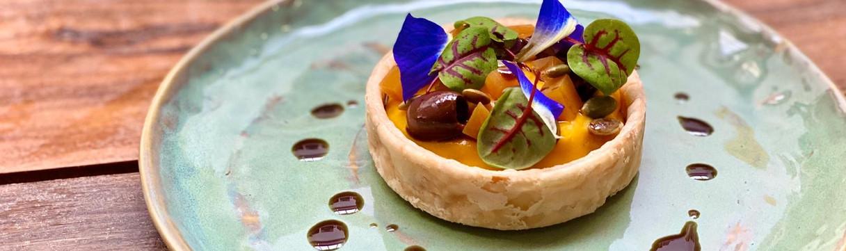Pumpkin Tart (Veg)