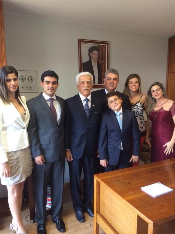 Deputado Federal Misael Varella toma posse em sessão solene da Câmara dos Deputados