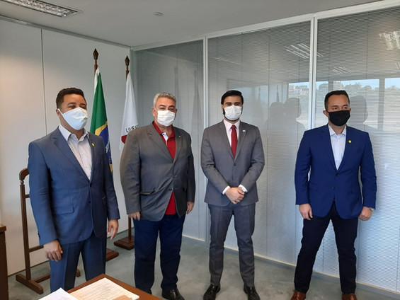 Misael pede apoio do estado aos municípios para combater avanço do Coronavírus