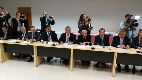 Em reunião com ministro e líder do Governo, FPA busca apoio para aprovação de projetos