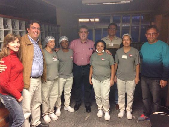 Hospital São João Batista, em Viçosa, recebe a visita do Deputado Misael Varella