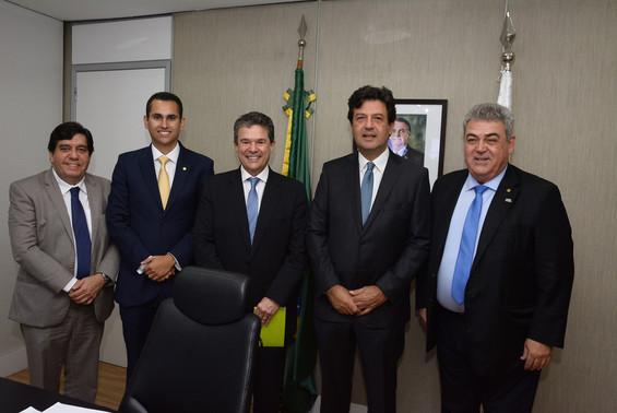Deputado participa de audiência com Ministro da Saúde e colegas do PSD