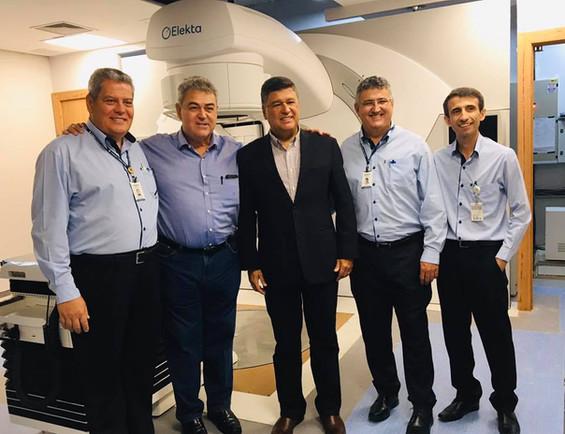 Deputado recebe Senador Carlos Viana na Fundação Cristiano Varella