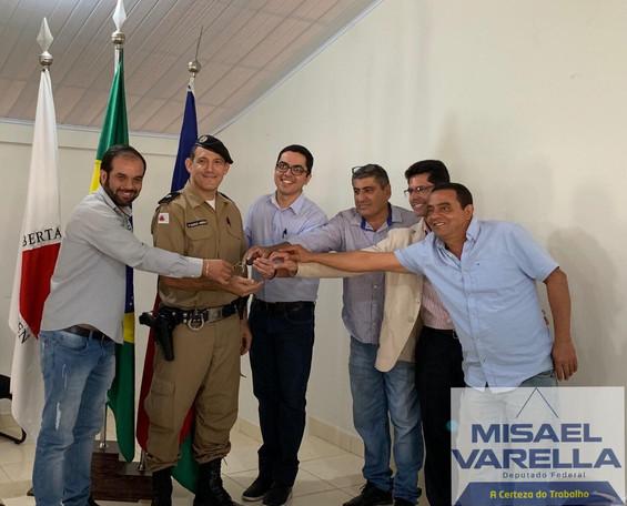 PMMG RECEBE NOVAS VIATURAS POR INDICAÇÃO DO DEPUTADO MISAEL VARELLA