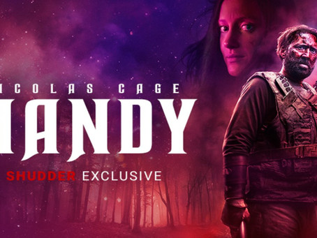 Mandy (2018) Nic's 31 Halloween Horror Movies for 2019 Film #17