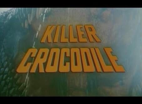 Killer Crocodile (1989) Nic's 31 Halloween Horror Movies for 2019 Film #22