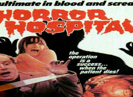Horror Hospital (1973) Nic's 31 Halloween Horror Movies for 2019 Film #16