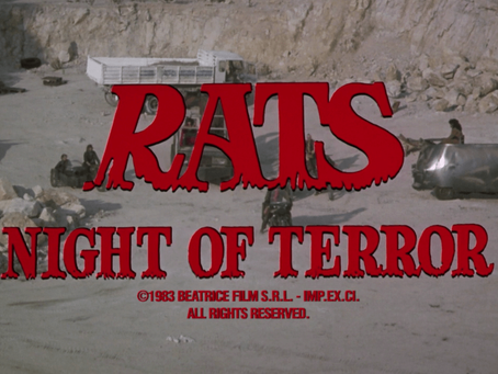 Rats: Night of Terror (1984) Nic's 31 Halloween Horror Movies for 2019 Film #18