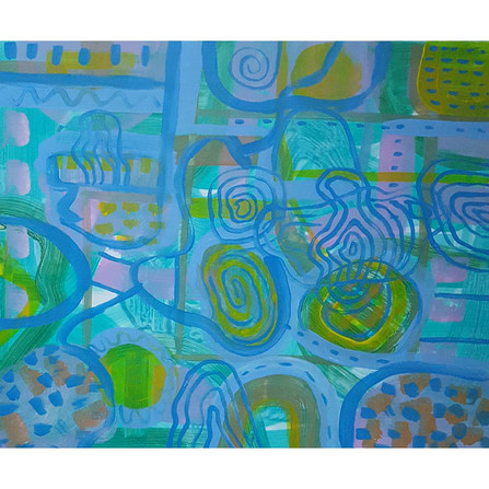 Abstract Journey/ Spirit Walk