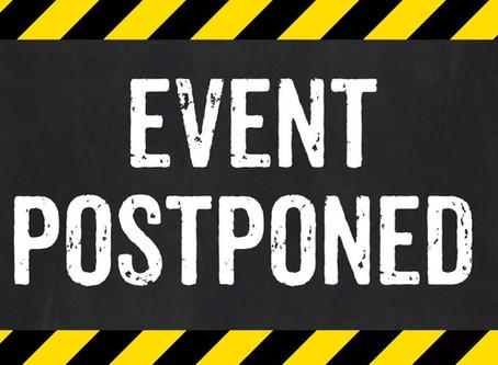 Netball is postponed