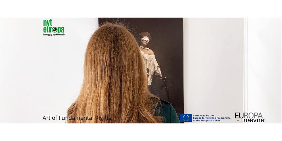 Kulturnatten: Prelancering af udstillingen Art of Fundamental Rights hos Nyt Europa