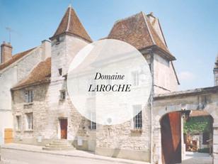 Domaine Laroche wine tasting