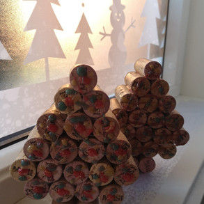 Wine Corks Christmas Decorations