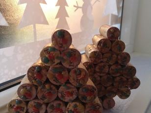 Wine Corks Christmas Decorations