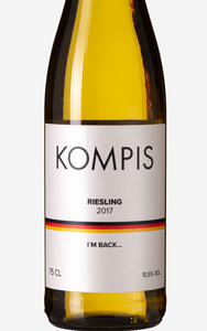 Example of a varietal wine 100% Riesling.