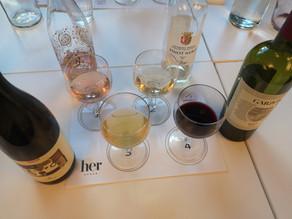 Wine tasting - Taste the different