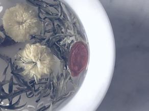 【お茶と薬膳 秋の養生茶 菊花緑茶】