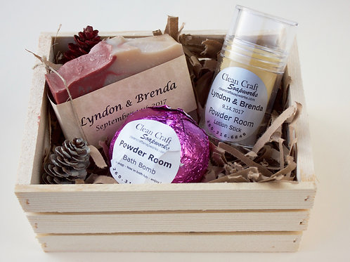 Wedding and Shower reception gifts