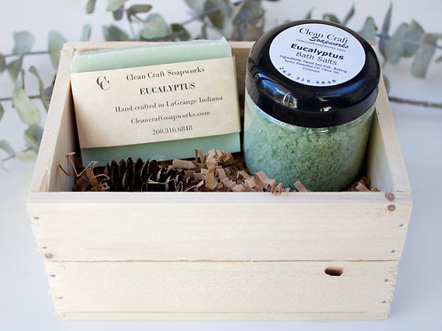 Wood Gift Crates