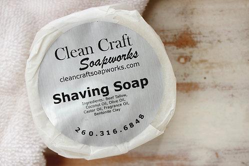 Clean Craft Soapworks Shaving Soap