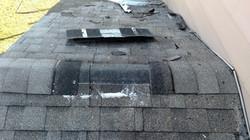 Improper Roof Vent Installation