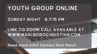 Copy of We are taking youth group online