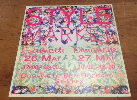 Style Market, St-Prex, 26 et 27 mai 2018!