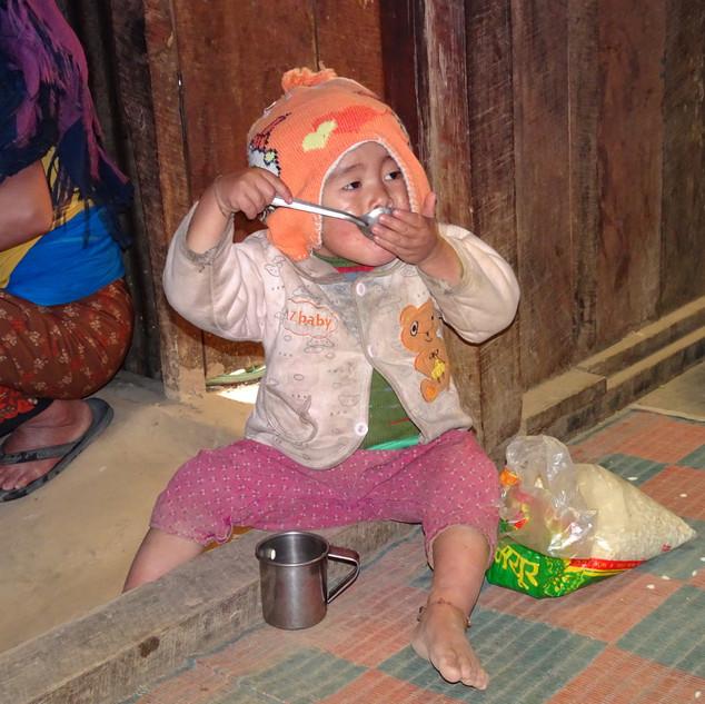 Enfant Népalais