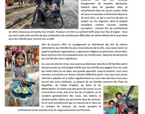 Aide alimentaire Inde