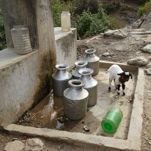 Fontaine népalaise