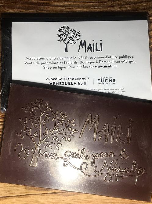 chocolat plaisir cadeau Fuchs association Mail entraide Népal