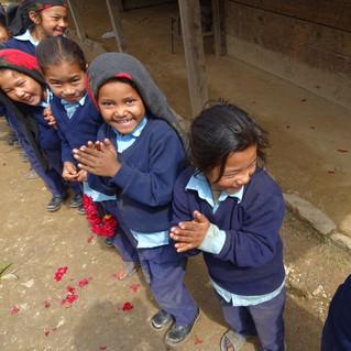 Fête reconstruction école