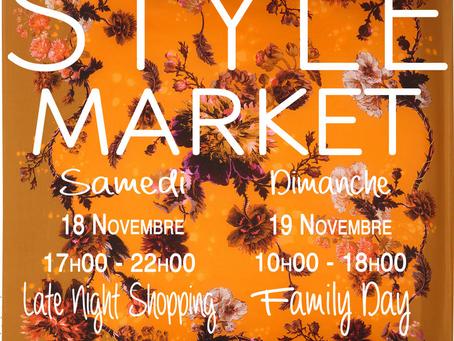 18-19 novembre 2017: Style Market à Saint-Prex.