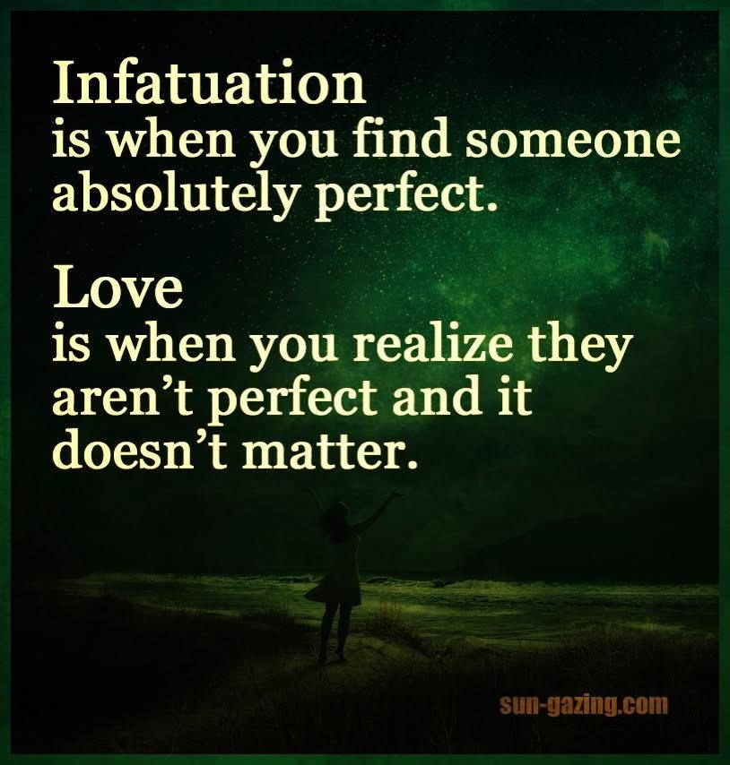 A virtual infatuation......