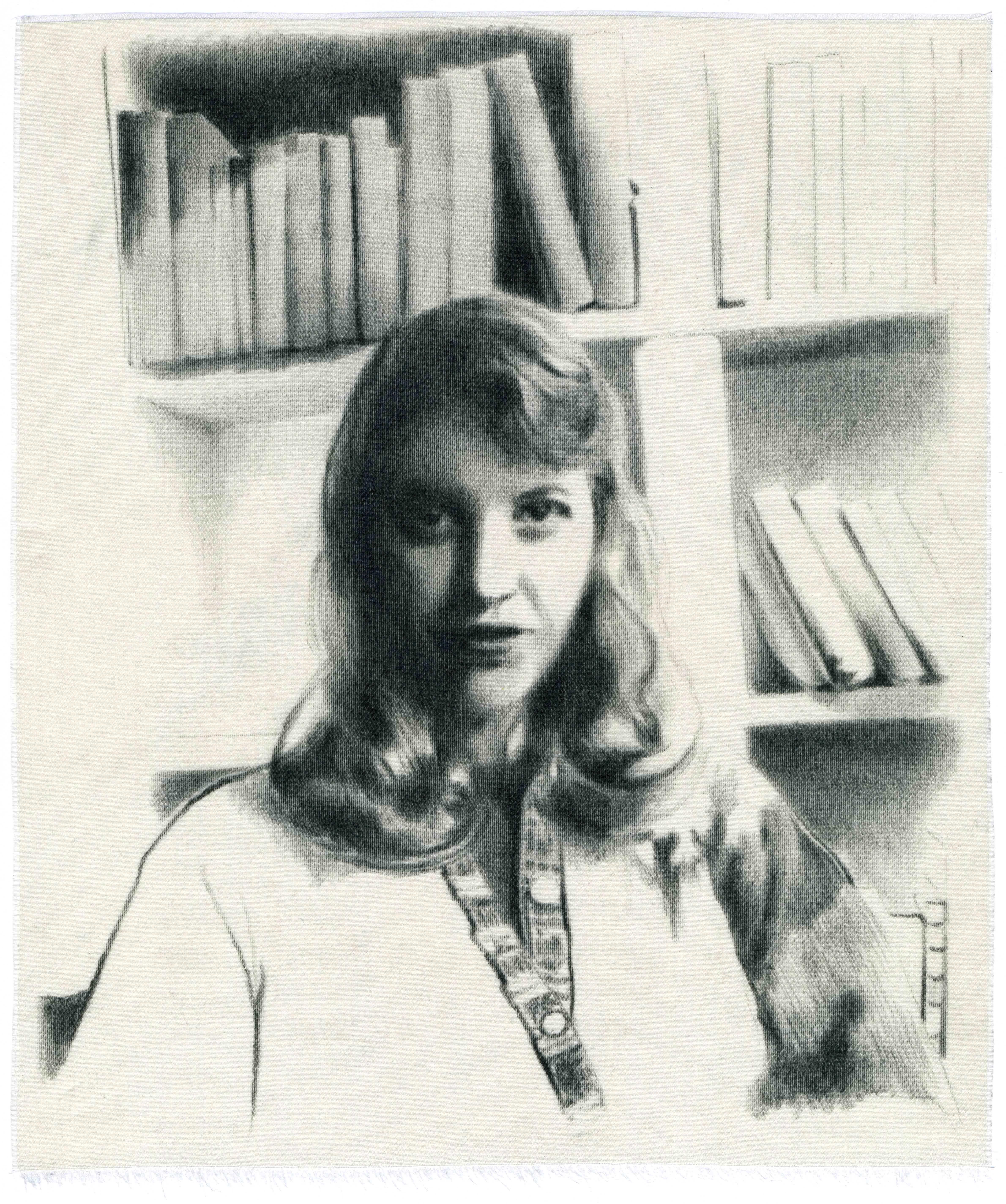 """""""Sylvia Plath (III)"""", 2018"""