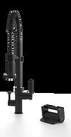 Dexter Foot Pedal Kitchen Faucet Control Principle Faucets Matte Black