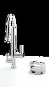 Konrad Foot Pedal Kitchen Faucet Control Principle Faucets Chrome