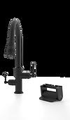 Vivienne Foot Pedal Kitchen Faucet Control Principle Faucets Matte Black