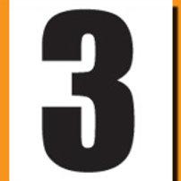 """""""3"""" Roller Derby """"DINK"""" Number"""