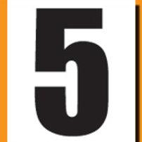 """""""5"""" Roller Derby """"DINK"""" Number"""