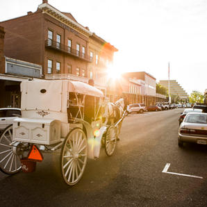 Hit up the historic sights a few blocks away in Old Sacramento!