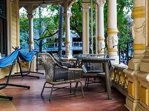 Enjoy the spacious front porch, and sip on a hot coffee from one of many local coffee shops within walking distance.