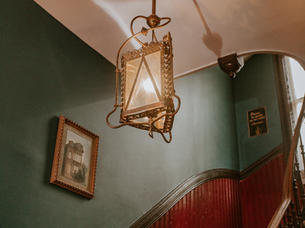 Stay here and expereince a gorgeous Victorian mansion with homey vibes.