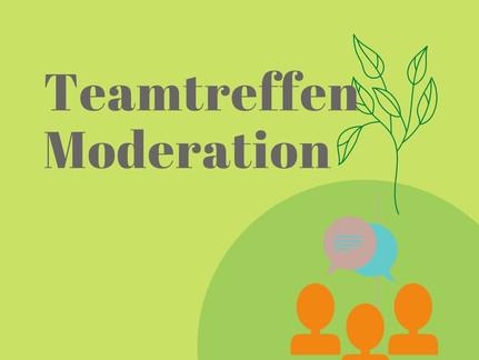 Teamtreffen Moderation